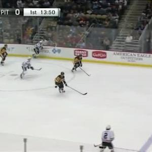 Blackhawks at Penguins / Game Highlights