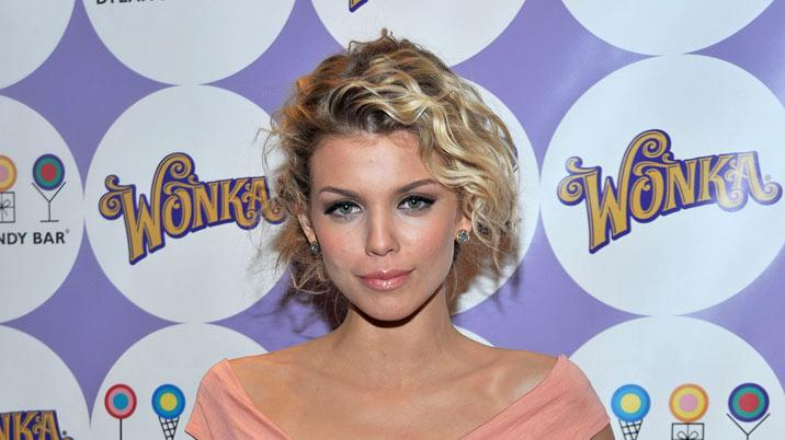 AnnaLynne McCord attends the WONKA Exceptionals Bar launch party at Dylan's Candy Bar on February 18, 2010 in New York City.