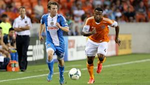 Houston Dynamo defender Jermaine Taylor is playing well at left back in Corey Ashe's absence