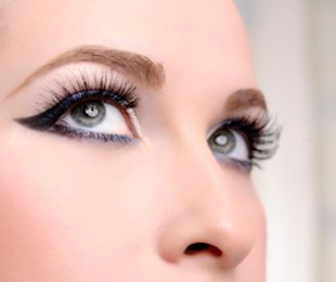 Dramatic eyeliner is all the rage this holiday season!