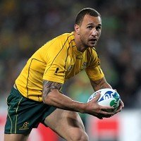 Quade Cooper has criticised the set-up of the Australia team