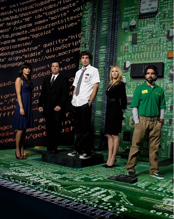 The cast of Chuck.