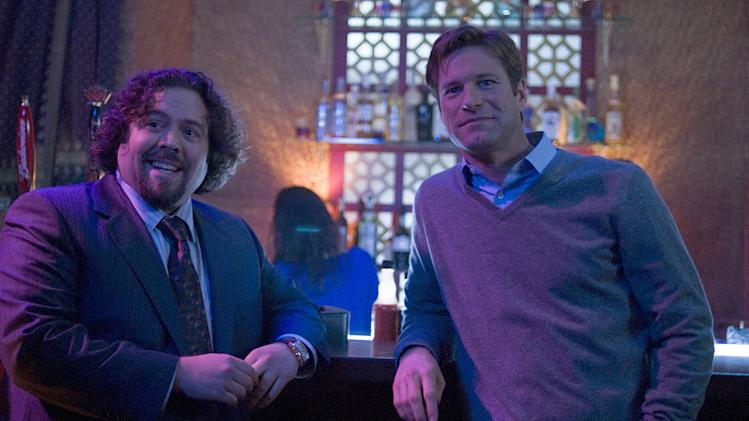 Love Happens Universal Pictures 2009 Production Photos Aaron Eckhart Dan Fogler