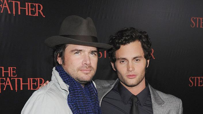 The Stepfather NY Premiere 2009 Matthew Settle Penn Badgley