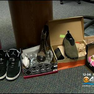 Police Show Of Merchandise Stolen In Hammocks Area