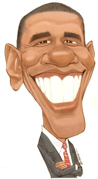 CARICATURE: Barack Obama