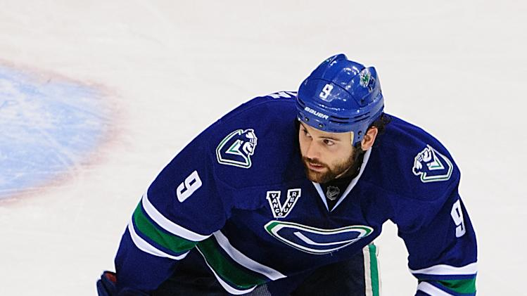 NHL: San Jose Sharks at Vancouver Canucks