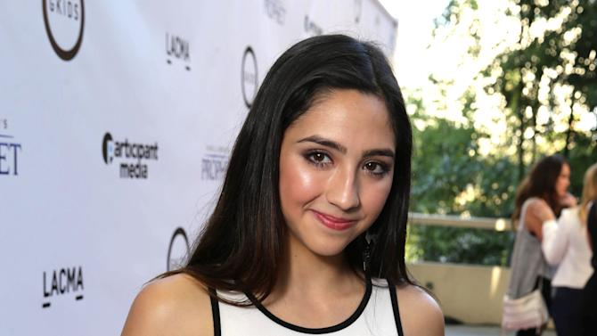 """Jesaiah Baer seen at Participant Media Special Los Angeles Screening of """"Kahlil Gibran's The Prophet"""" held at LACMA's Bing Theater on Wednesday, July 29, 2015, in Los Angeles. (Photo by Eric Charbonneau/Invision for Participant Media/AP Images)"""