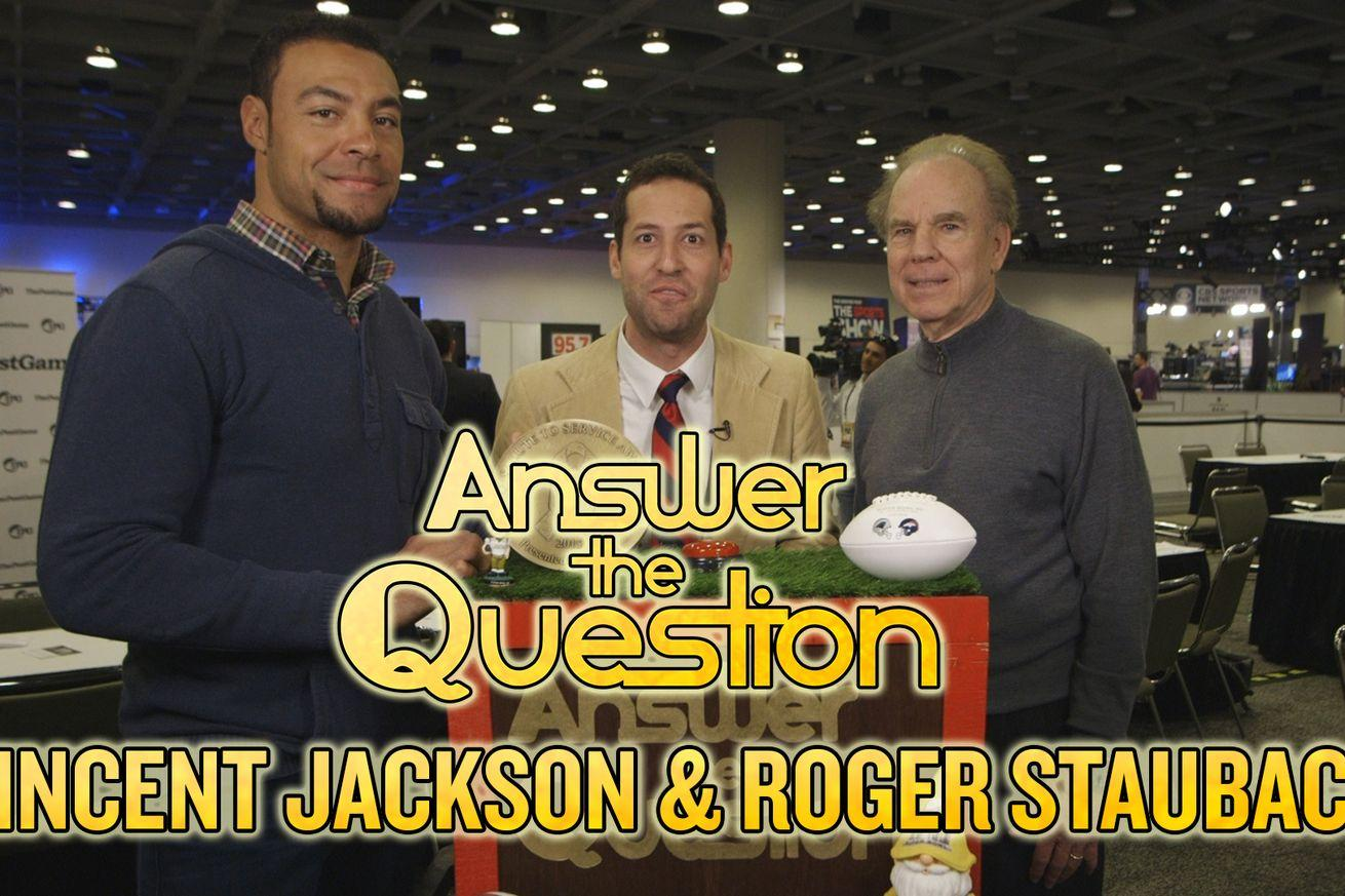 2016 Super Bowl: Roger Staubach and Vincent Jackson discuss on-field dancing