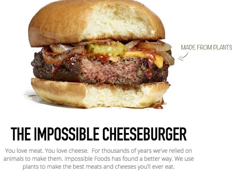 A veggie-cheeseburger startup that Google tried to buy has raised $108 million