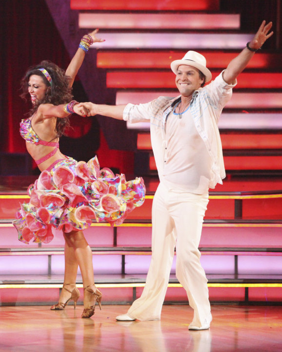 Karina Smirnoff and Gavin …