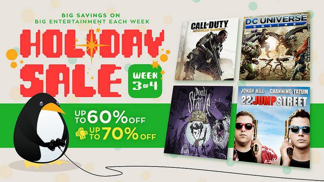 PS4, PS3, PS Vita Holiday Sale Week 3 Deals Revealed