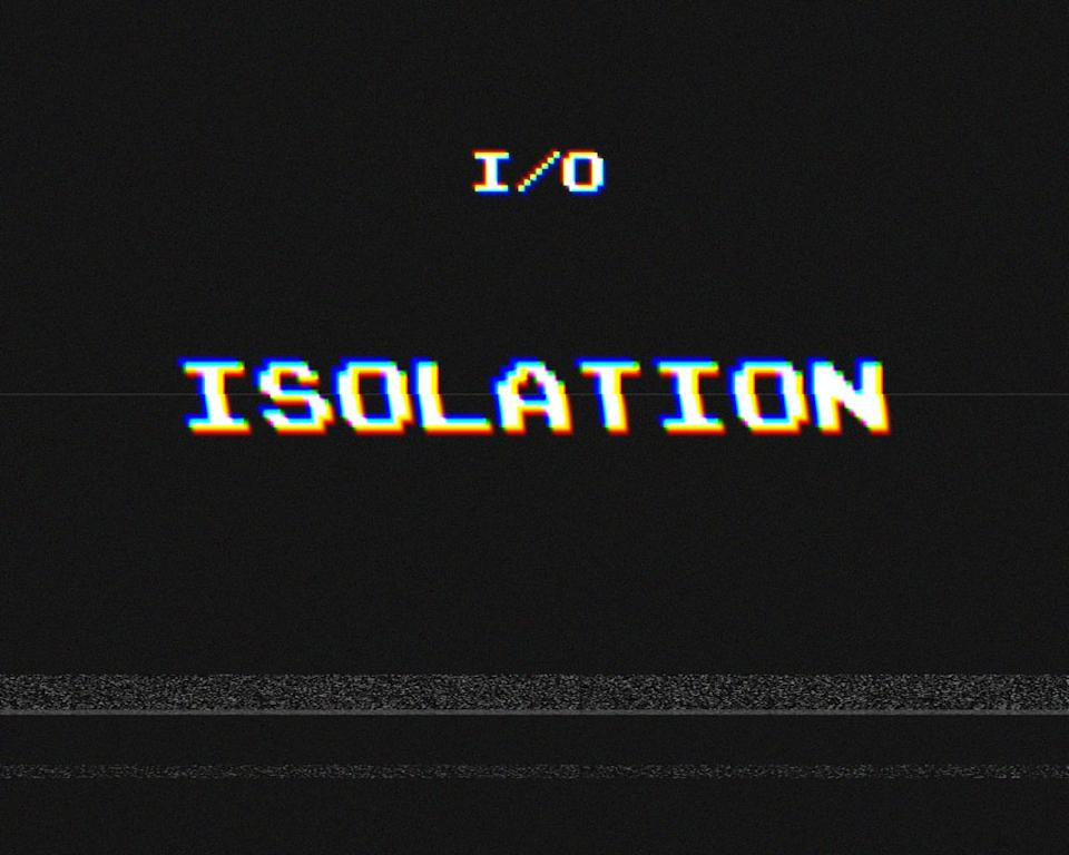 "This CD cover image released by I/O shows his self-released R&B album, ""Isolation."" (AP Photo/I/O)"