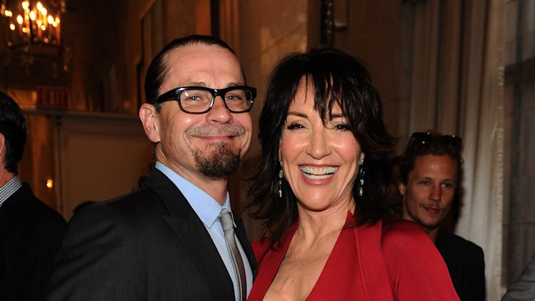IMAGE DISTRIBUTED FOR TELEVISION ACADEMY - EXCLUSIVE - Kurt Sutter and Katey Sagal attend the 2014 Television Academy Hall of Fame on Tuesday, March 11, 2014, at the Beverly Wilshire in Beverly Hills, Calif. (Photo by Frank Micelotta/Invision for the Television Academy/AP Images)