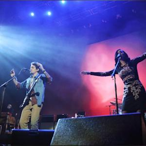 Katy Perry Joins John Mayer Onstage In Brooklyn For Surprise Performance Of
