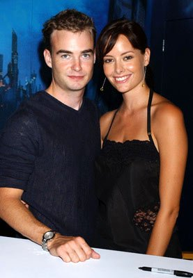 Robin Dunne and Amelia Cooke 2004 San Diego Comic-Con International - 7/24/2004