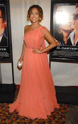 Jennifer Lopez at the New York premiere of Picturehouse's El Cantante -7/26/2007 Photo: Kevin Mazur, Wireimage.com
