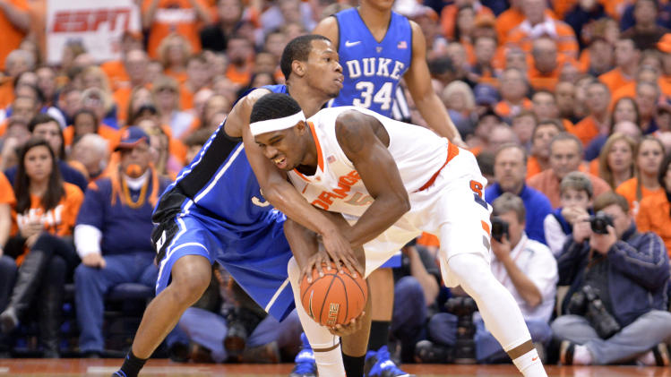 NCAA Basketball: Duke at Syracuse