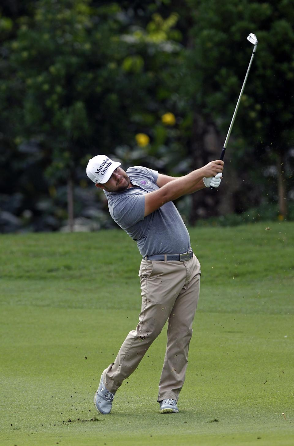 Stroud, Moore take share of lead at CIMB Classic