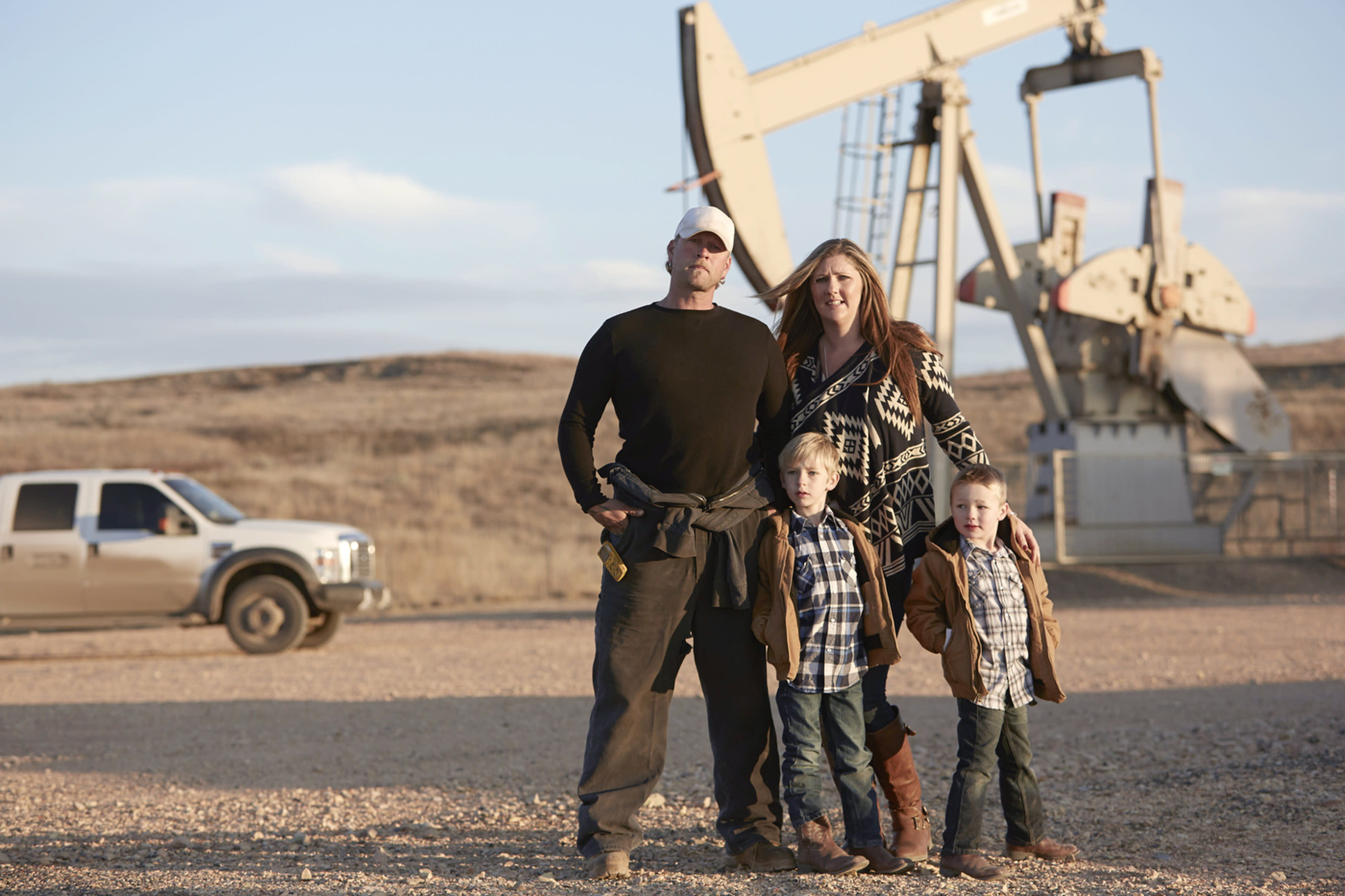 Smithsonian series chronicles lives of oil patch residents