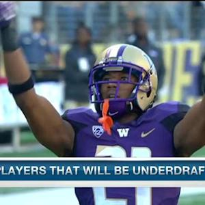 Which NFL Draft prospects could be underdrafted?