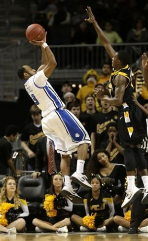 Saint Louis beats VCU 62-56 to win A-10 tourney