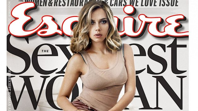 Scarlett Johansson Named Esquire's Sexiest Woman Alive, Again (ABC News)