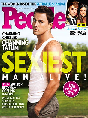 Channing Tatum Named People's Sexiest Man Alive