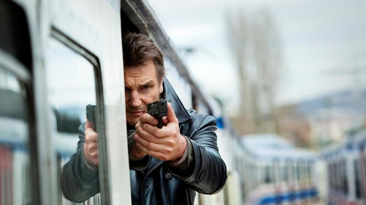 "This image released by 20th Century Fox shows Liam Neeson in a scene from ""Taken 2."" (AP Photo/20th Century Fox, Magali Bragard)"