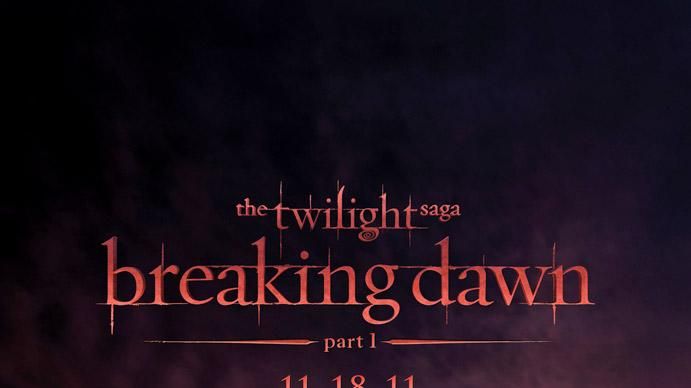 Twilight Saga Breaking Dawn pt 1 poster