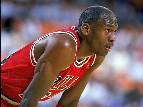 Michael Jordan NBA Playoffs Loss