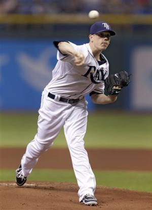 Hellickson shuts down Athletics in 1-0 Rays win