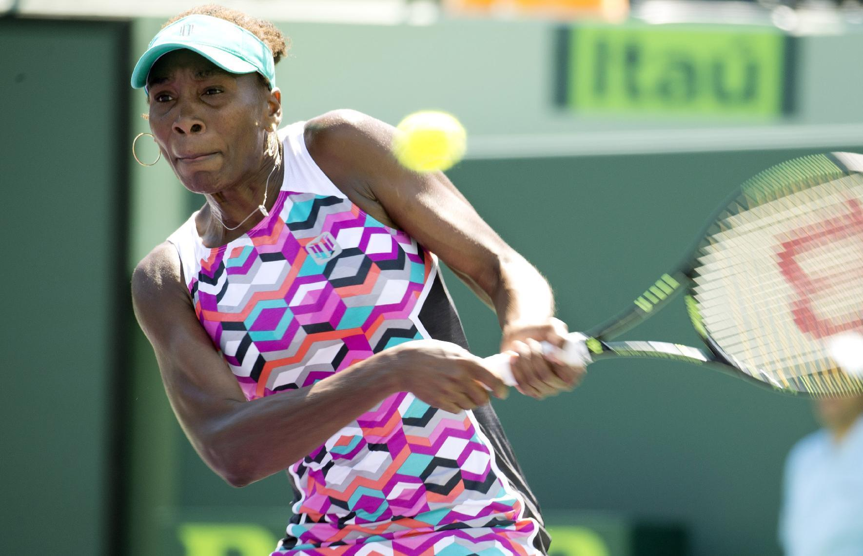 Halep, Venus lose in Madrid Open 1st round, Serena advances