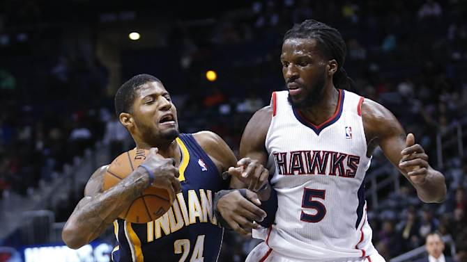 West, George helps Pacers end Atlanta skid