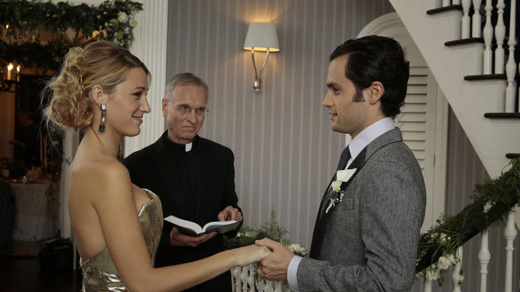 "TV Wedding - Serena van der Woodsen and Dan Humphrey: ""Gossip Girl"" (2012)"