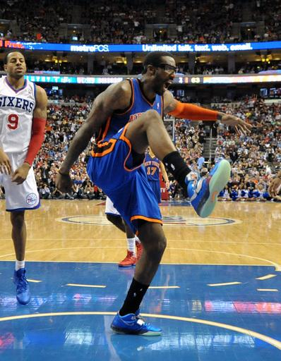 Knicks beat 76ers 82-79 for 5th straight win