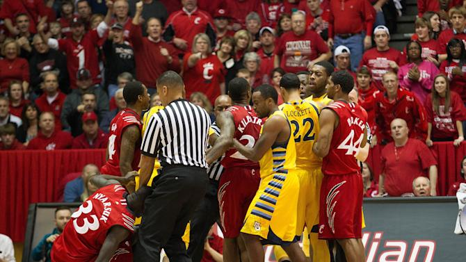 NCAA Basketball: Marquette at Cincinnati