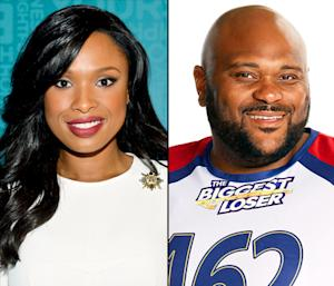 "Skinny Jennifer Hudson Supports Fellow American Idol Alum Ruben Studdard on Biggest Loser: ""I Am So Proud!"""