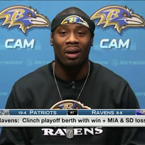 Baltimore Ravens wide receiver Jacoby Jones: 'We got the faith in Tuck'