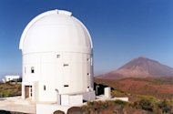 The Optical Ground Station, run by the European Space Agency on the Canary Island of Tenerife, was used to receive photons in a quantum teleportation experiment reported in September 2012.