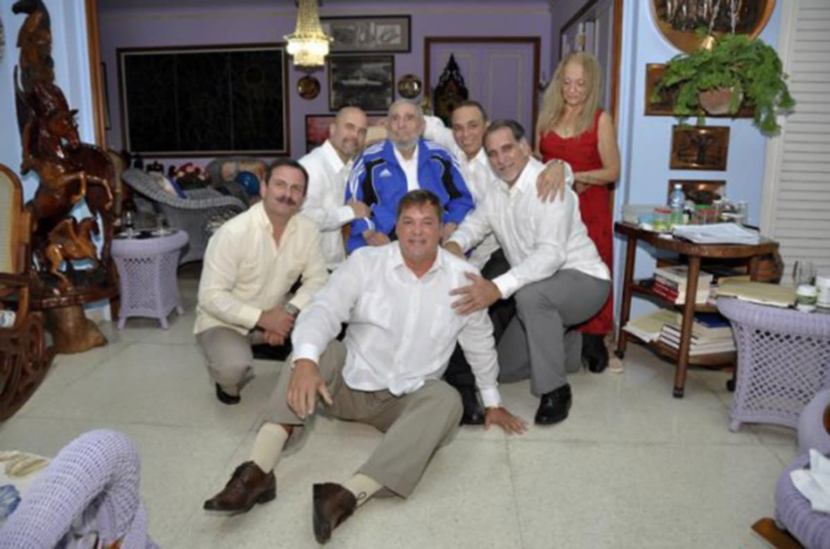Fidel Castro finally meets the Cuban Five, spies turned heroes