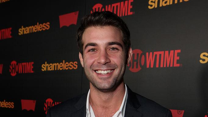 "James Wolk attends the ""Shameless"" Season 2 Reception at Haus Los Angeles on January 5, 2012 in Los Angeles, California."