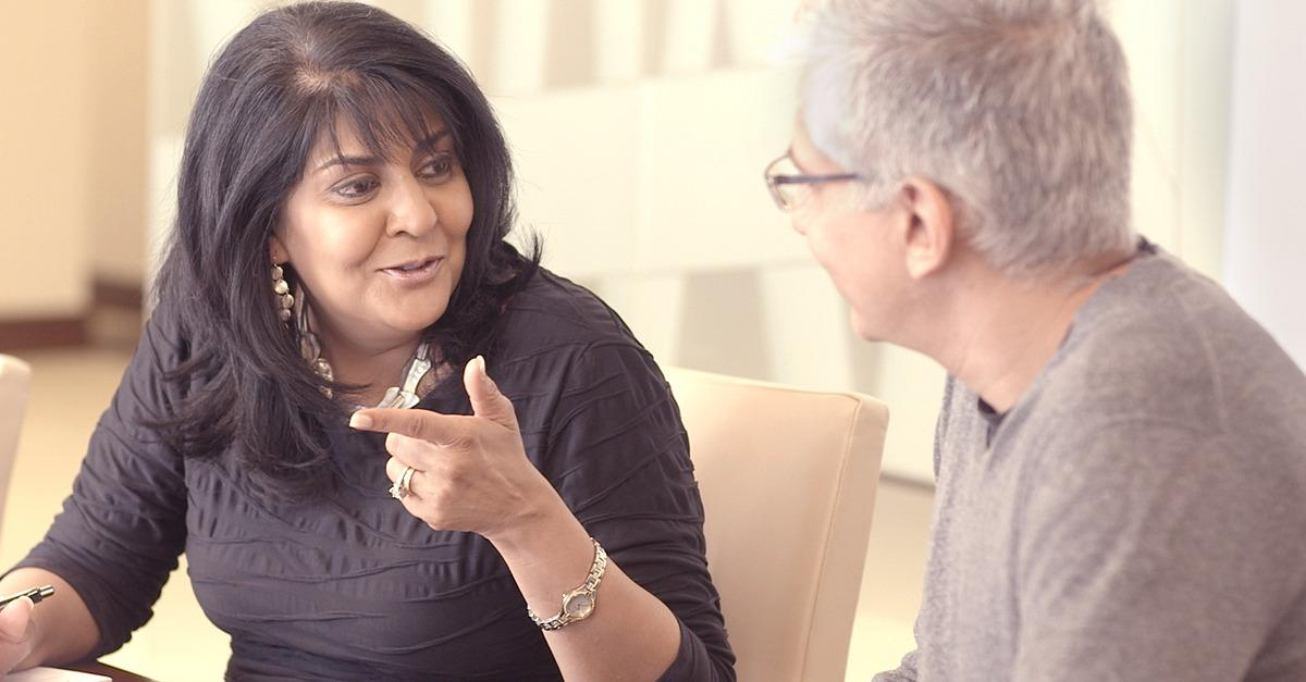 Anu made sure her team could help every client.