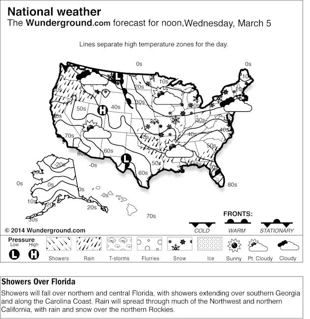 When Is Rain Forecasted In Northern Ca In January 2014