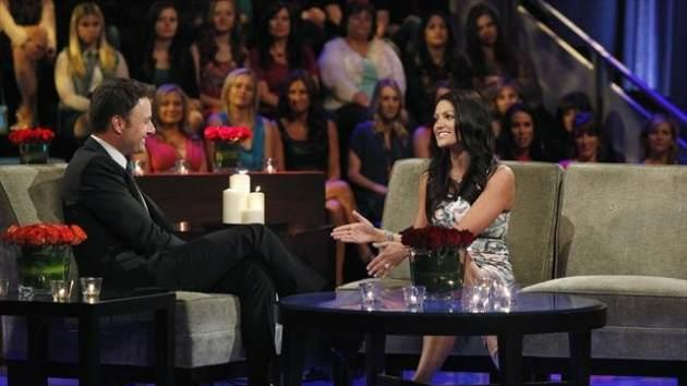 Chris Harrison interviews Tierra on 'The Bachelor: The Women Tell All' -- ABC