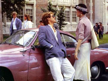James Spader and Molly Ringwald in Paramount Pictures' Pretty in Pink