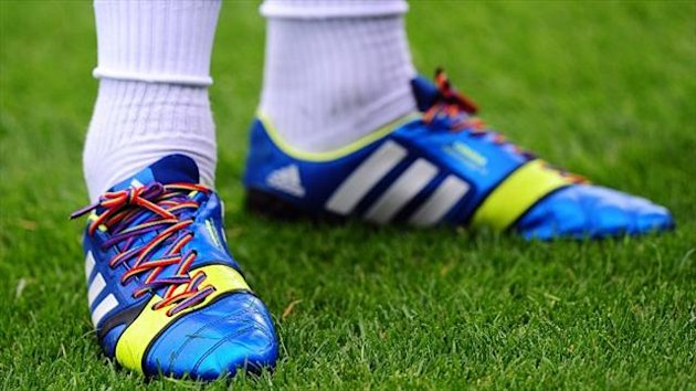 Joey Barton wore the rainbow laces during QPR's win over Birmingham