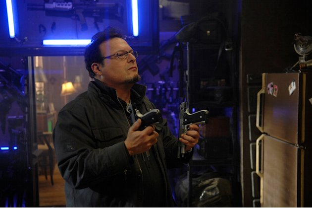 Wayne Knight Punisher: War Zone Production Stills Lionsgate 2008