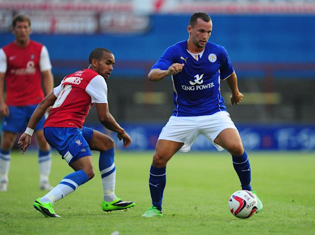 Soccer - Pre-Season Friendly - York City v Leicester City - Bootham Crescent