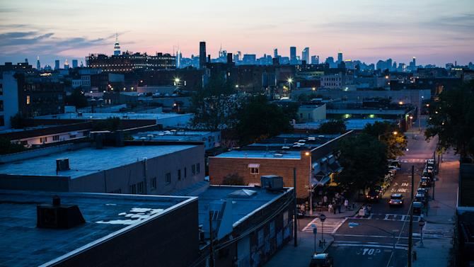 In this file photo, New York skyline is seen from a rooftop in the Brooklyn Borough, on June 15, 2013